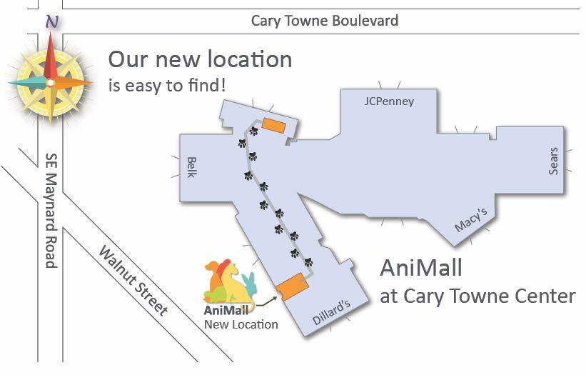 Cary towne center map my blog for An new world cuisine cary nc